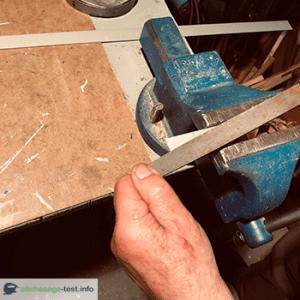 Aluminium Bauteil entgraten
