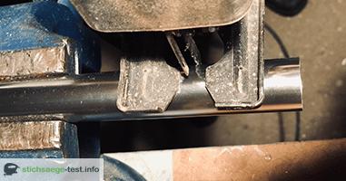 Relativ Ratgeber: Aluminium mit der Stichsäge schneiden - Stichsäge Test JU89